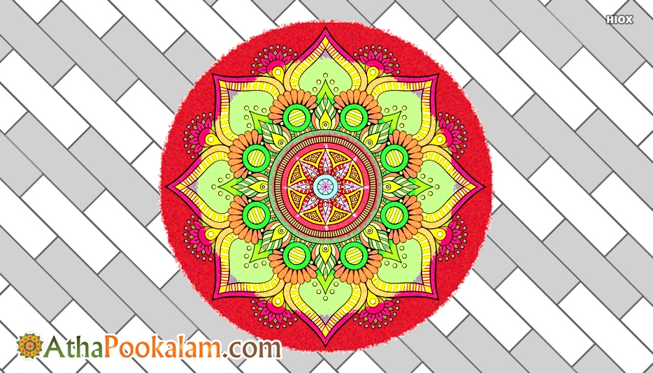 Onam Athapookalam Images, Pictures