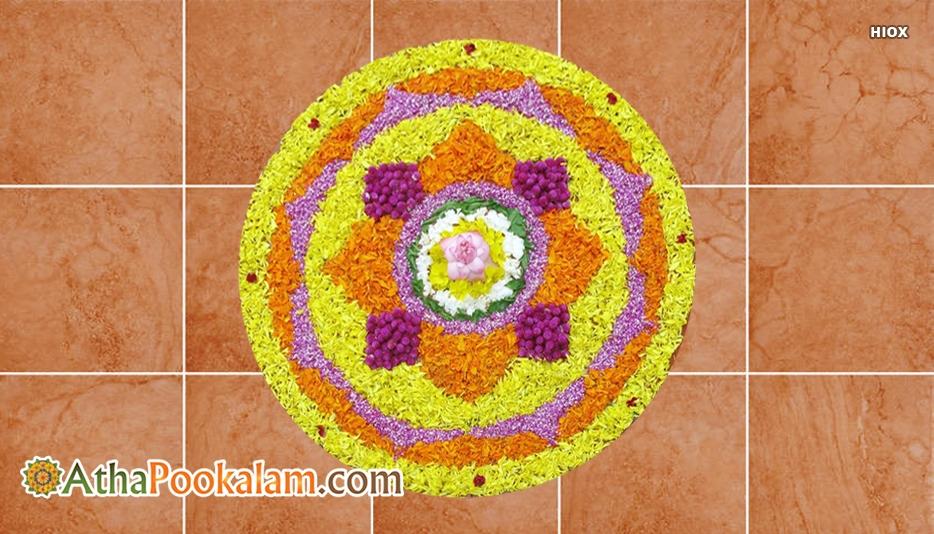 Attractive Pookalam Designs