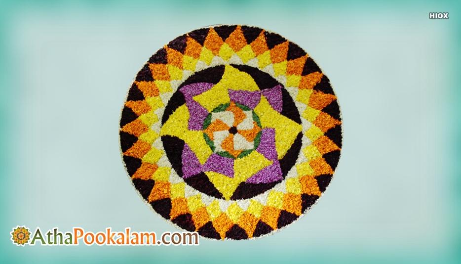 Geometric Athapookalam Designs