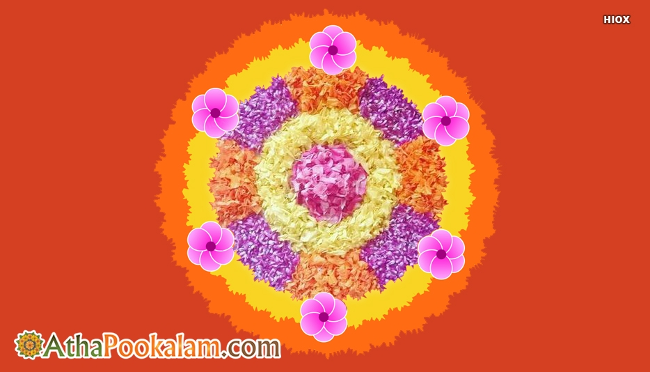 Design Pookalam Designs