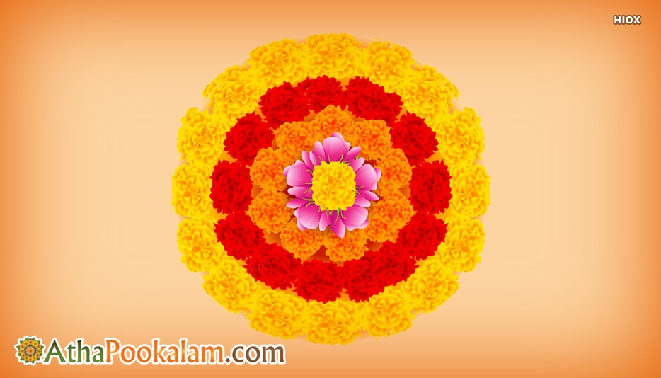 Athapookalam Flower Hd Image
