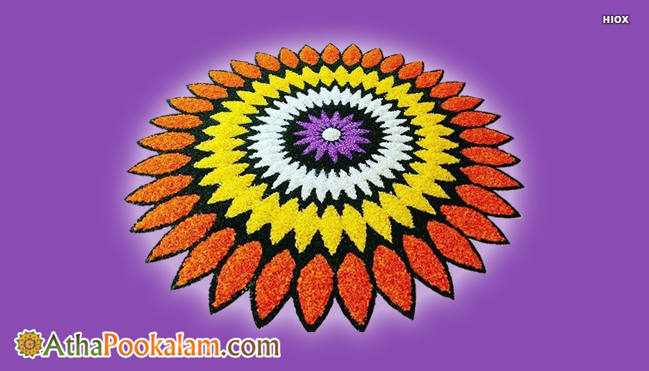 Easy Athapookalam Designs