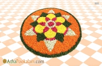 Athapookalam Design With Theme