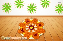 Athapookalam Easy Design