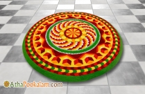 Athapookalam Kolam Picture