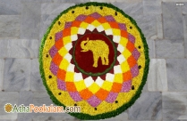 Athapookalam Traditional Image
